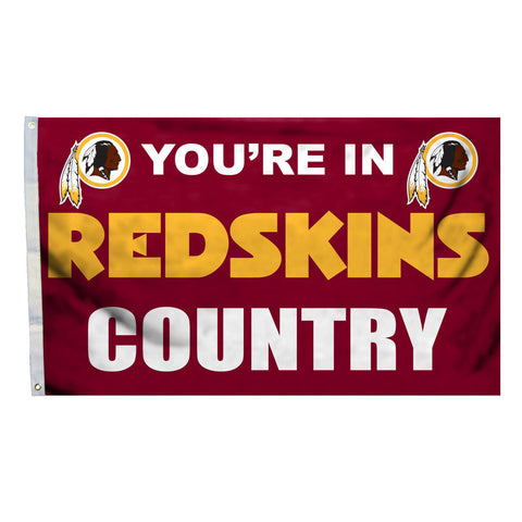 Washington Redskins Country 3X5 Flag