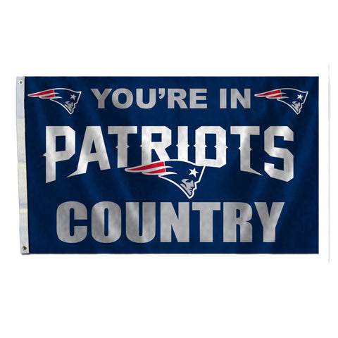 New England Patriots Country 3X5 Flag
