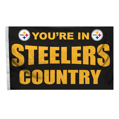 Pittsburgh Steelers Country 3X5 Flag