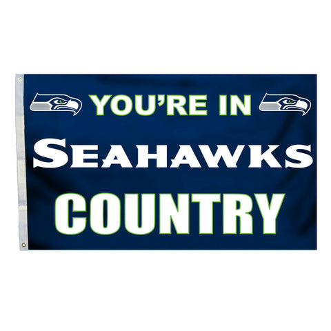 Seattle Seahawks Country 3X5 Flag