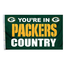 Green Bay Packers Country 3X5 Flag