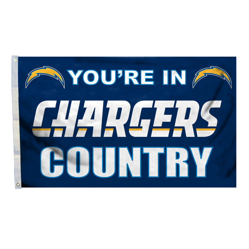 San Diego Chargers Country 3X5 Flag