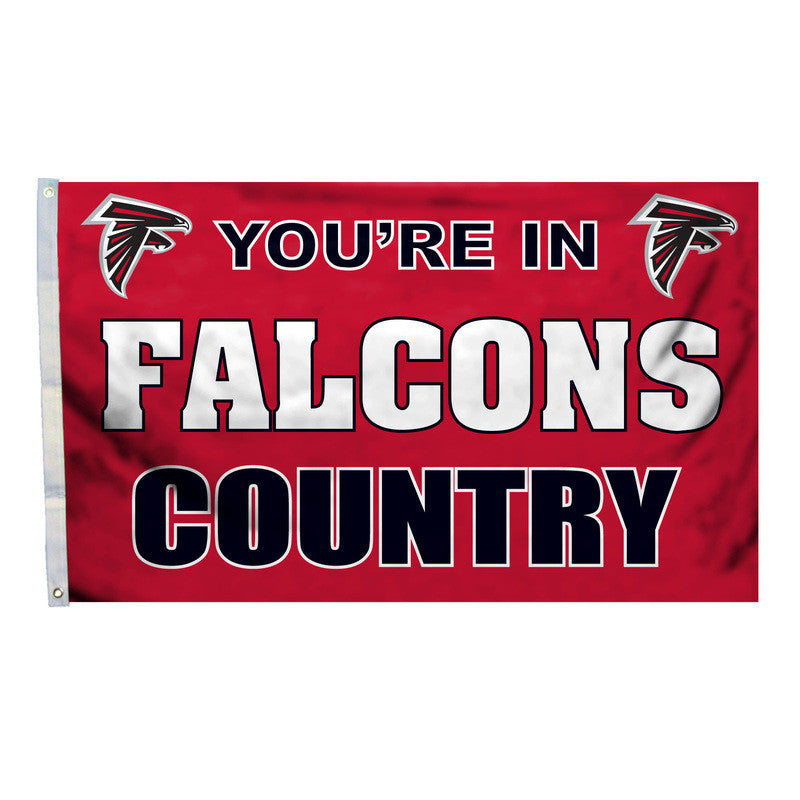Atlanta Falcons Country 3X5 Flag