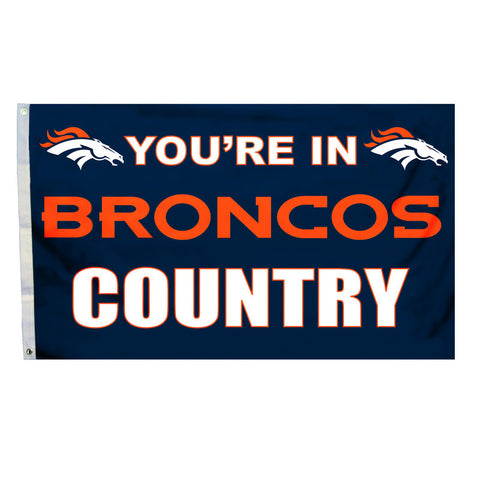 Denver Broncos Country 3X5 Flag