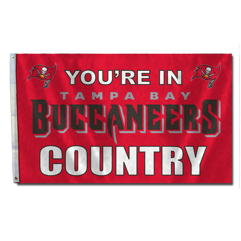 Tampa Bay Buccaneers Country 3X5 Flag