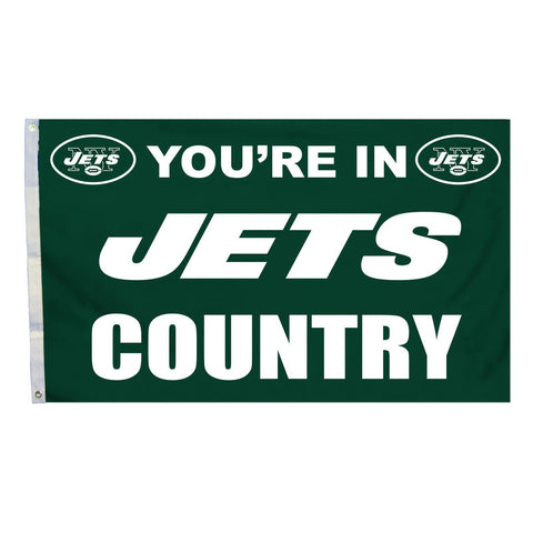New York Jets Country 3X5 Flag