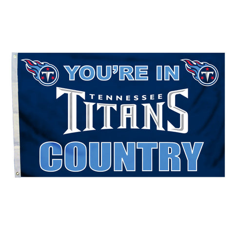 Tennessee Titans Country 3X5 Flag
