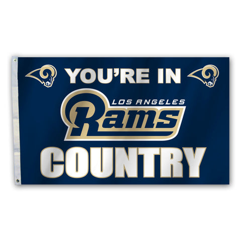 St. Louis Rams Country 3X5 Flag