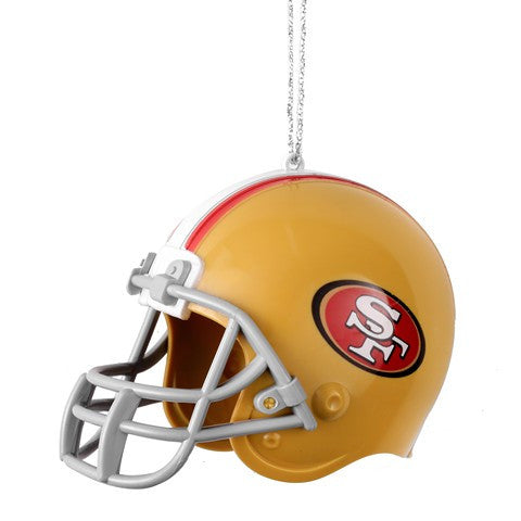 San Francisco 49ers NFL ABS Helmet Ornament