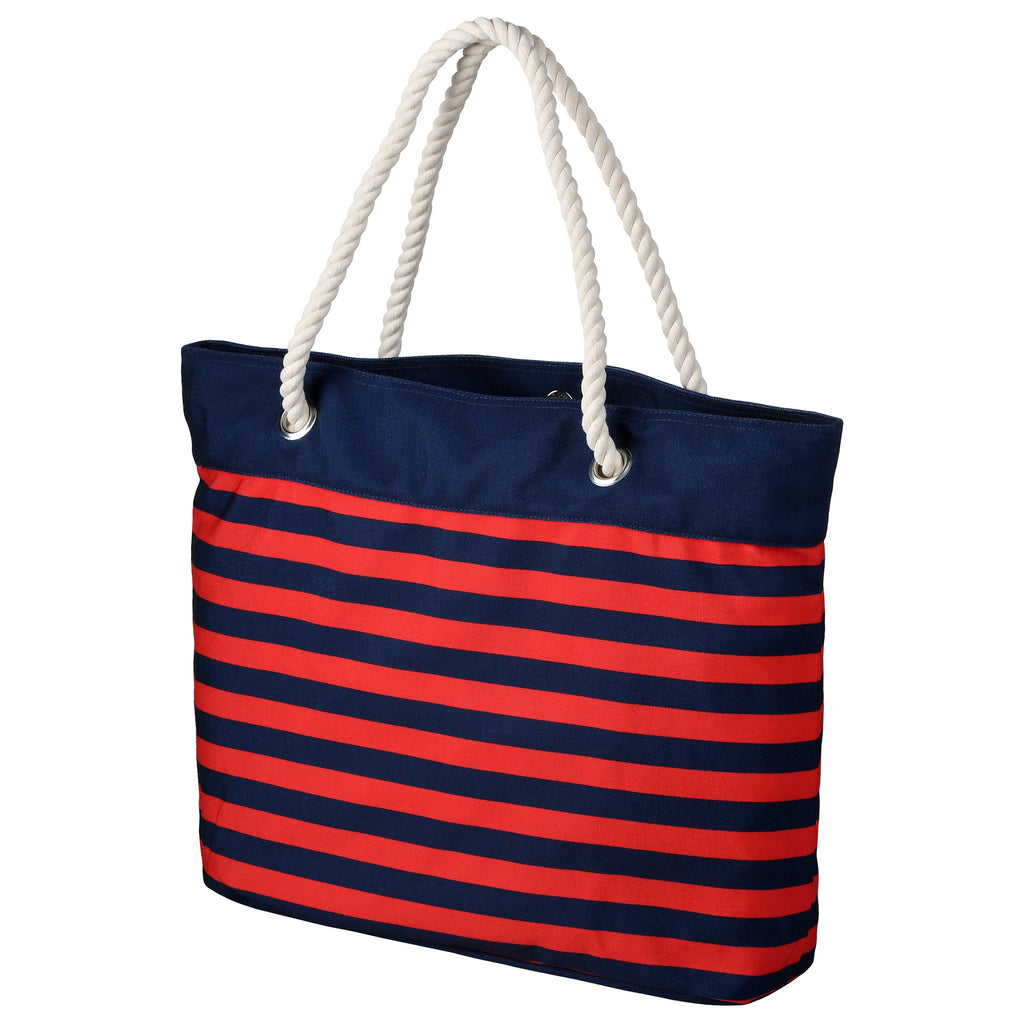 Boston Red Sox Official MLB Nautical Stripe Tote Bag