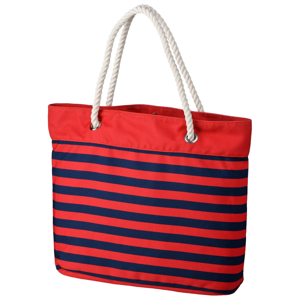 St Louis Cardinals Official MLB Nautical Stripe Tote Bag (Pre-Order Ships in Late April)