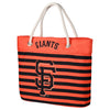 San Francisco Giants Official MLB Nautical Stripe Tote Bag (PRE-ORDER:  ARRIVES MID TO LATE APRIL:    )