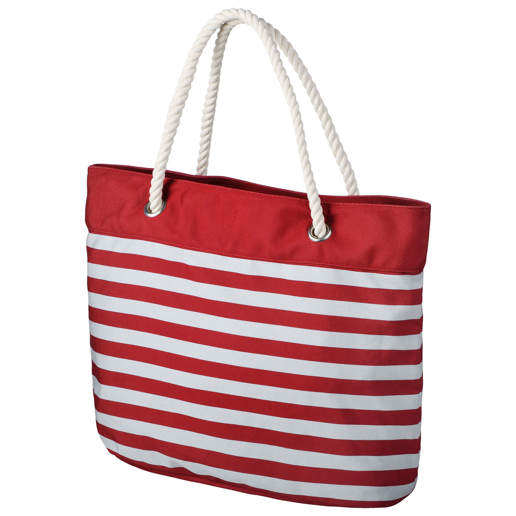 Alabama Crimson Tide Official NCAA Nautical Stripe Tote Bag