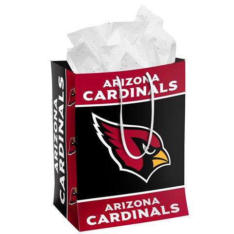 Arizona Cardinals Official NFL Medium Gift Bag
