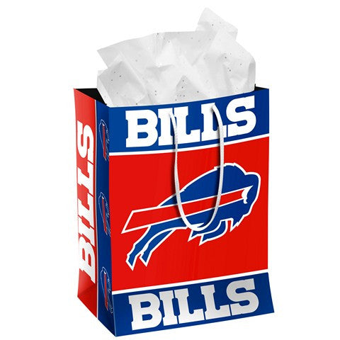 Buffalo Bills Official NFL Medium Gift Bag