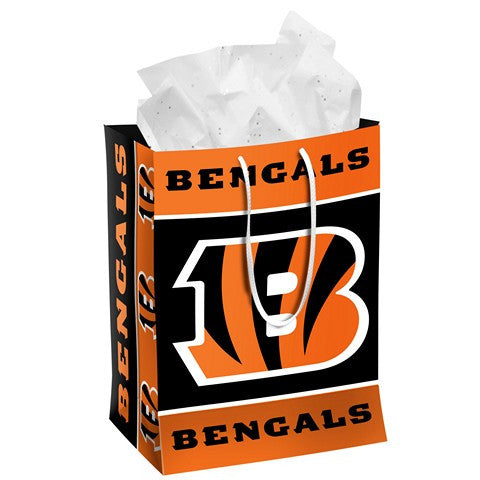 Cincinnati Bengals Official NFL Medium Gift Bag