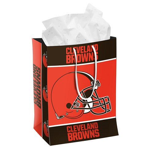 Cleveland Browns Official NFL Medium Gift Bag