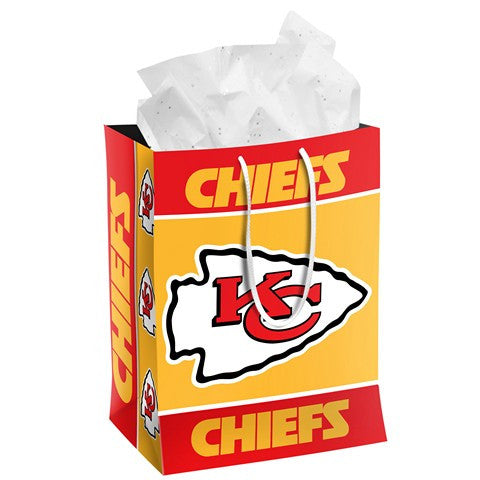 Kansas City Chiefs Official NFL Medium Gift Bag