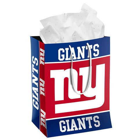 New York Giants Official NFL Medium Gift Bag