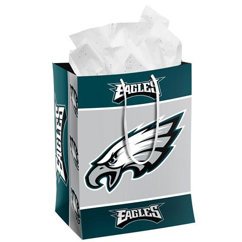 Philadelphia Eagles Official NFL Medium Gift Bag