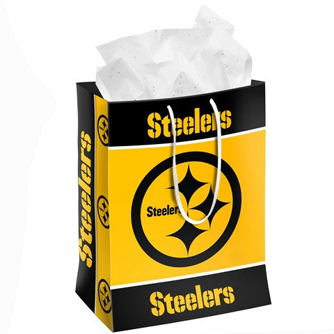 Pittsburgh Steelers Official NFL Medium Gift Bag