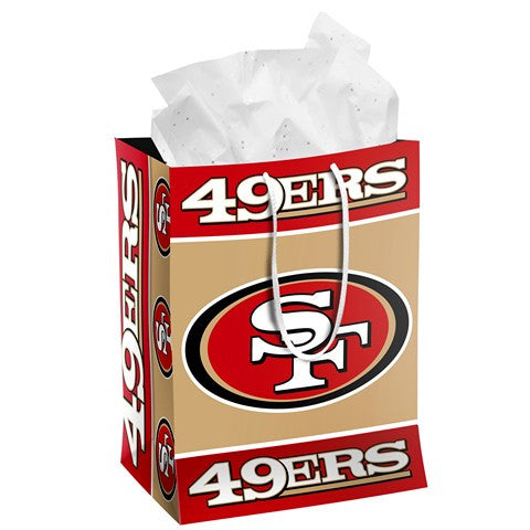 San Francisco 49Ers Official NFL Medium Gift Bag