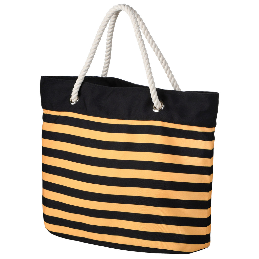 Pittsburgh Steelers Official NFL Nautical Stripe Tote Bag