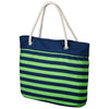 Seattle Seahawks Official NFL Nautical Stripe Tote Bag