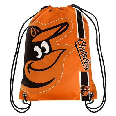 Baltimore Orioles Official MLB Team Logo Drawstring Backpack
