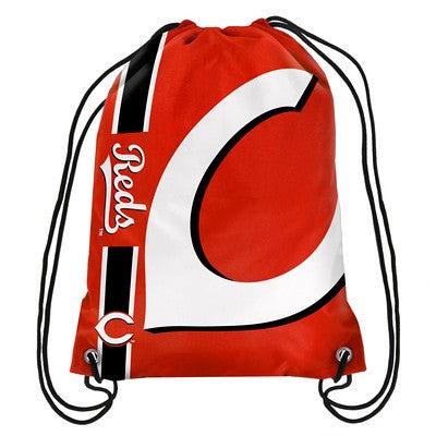 Cincinnati Reds Official MLB Team Logo Drawstring Backpack