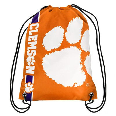 Clemson Tigers Official NCAA Team Logo Drawstring Backpack