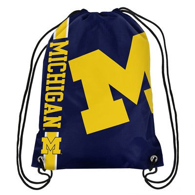 Michigan Wolverines Official NCAA Team Logo Drawstring Backpack