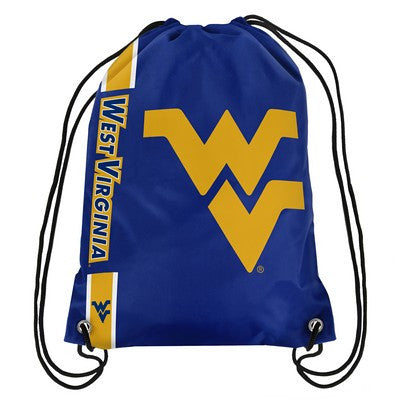 Virginia West  Mountaineers Official NCAA Team Logo Drawstring Backpack