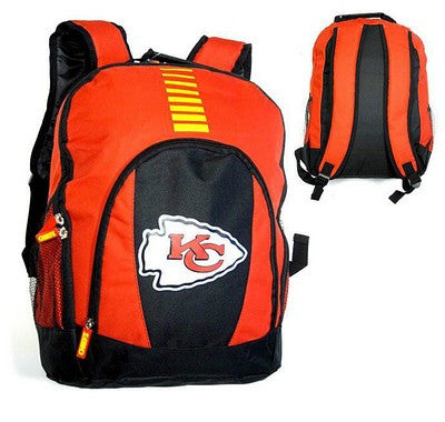 Kansas City Chiefs Official NFL Prime Time Backpack