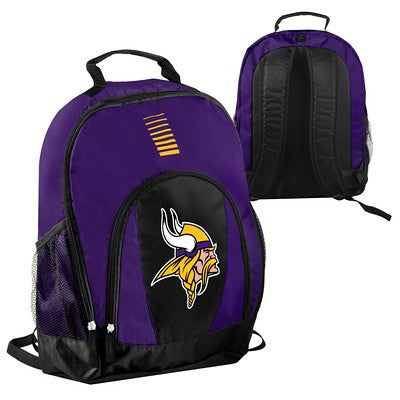 Minnesota Vikings Official NFL Prime Time Backpack