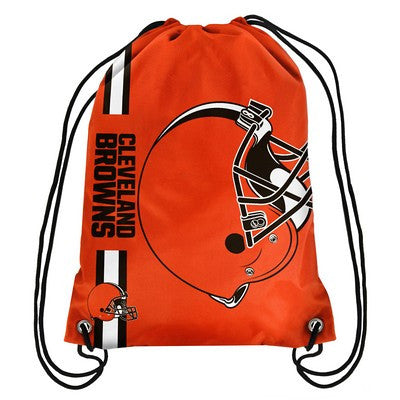 Cleveland Browns Official NFL Team Logo Drawstring Backpack