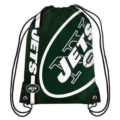 New York Jets Official NFL Team Logo Drawstring Backpack