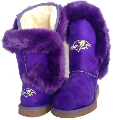 "Baltimore Ravens Women's Cuce Official NFL ""Champions"" Boots"