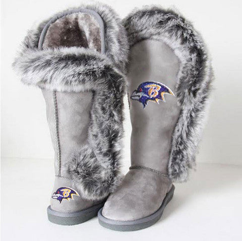 "Baltimore Ravens Women's Cuce Official NFL ""Winner"" Boots"