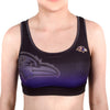 Baltimore Ravens Women's Official NFL Gradient Sports Bra