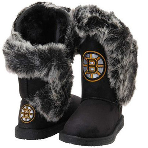 "Boston Bruins Women's Cuce Official NHL ""Champions"" Boots"