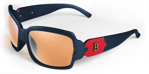 Boston Red Sox Women's Bombshell Sunglasses and Free Micro Fiber Case