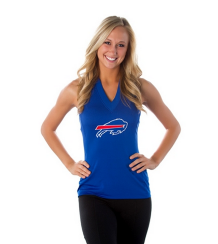 "Buffalo Bills Women's Official NFL ""Blown Coverage"" Halter"