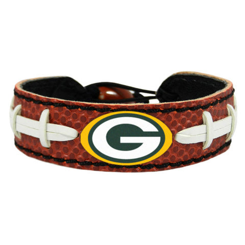Green Bay Packers Classic NFL Football Bracelet