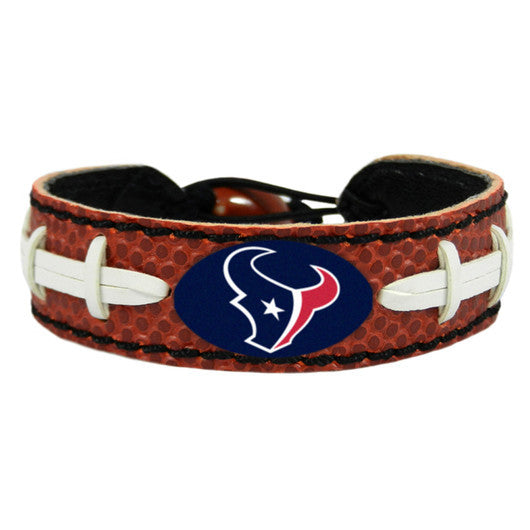 Houston Texans Classic NFL Football Bracelet