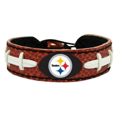 Pittsburgh Steelers Classic NFL Football Bracelet