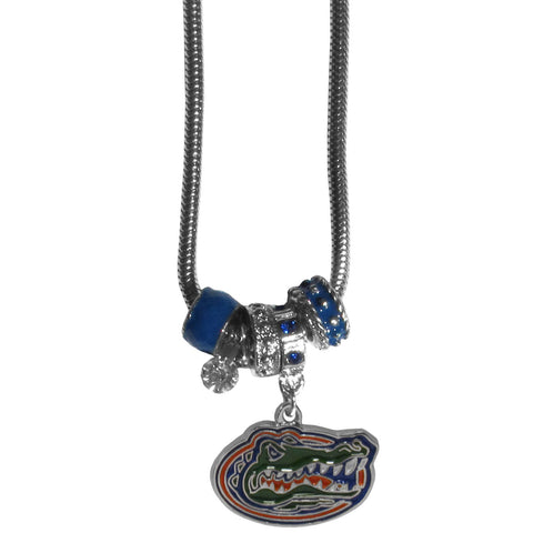 Florida Gators Official NCAA Euro Bead Necklace / Bracelet