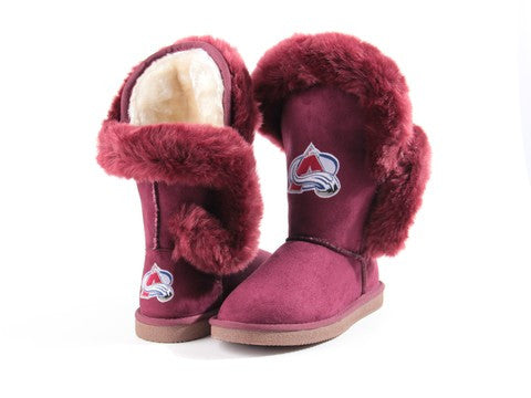 "Colorado Avalanche Women's Cuce Official NHL ""Champions"" Boots"