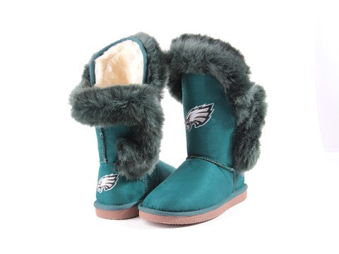 "Philadelphia Eagles Women's Cuce Official NFL ""Champions"" Boots"