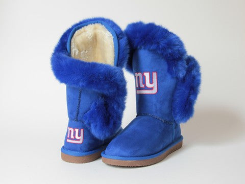 "New York Giants Women's Cuce Official NFL ""Champions"" Boots"